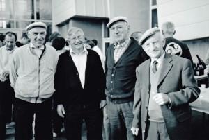 Les  fondateurs : Louis Etesse, Jean Buchon, Roger Dudal et André Pochon. Manquent sur la photo : André Etesse, Michel Le Goff et Henri Renault